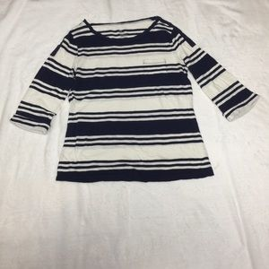 🎀Gap  3 for $20 sale Henley stripe size Large